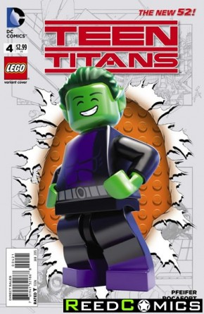 Teen Titans Volume 5 #4 (Lego Variant Cover)