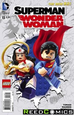 Superman Wonder Woman #13 (Lego Variant Edition)