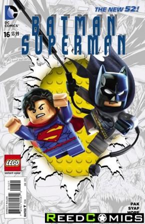 Batman Superman #16 (Lego Variant Edition)