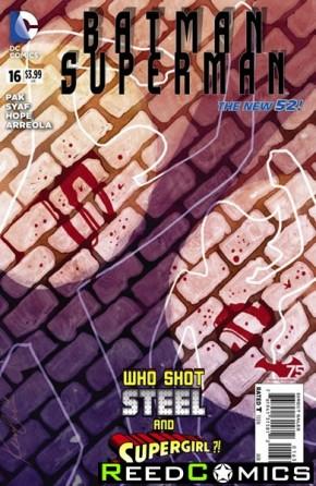 Batman Superman #16 (1 in 25 Incentive Variant Cover)