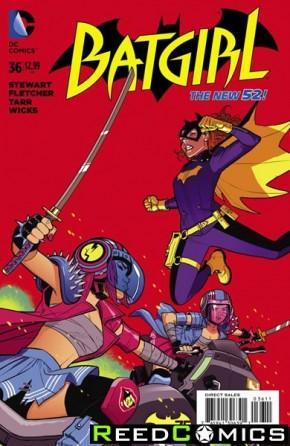 Batgirl Volume 4 #36