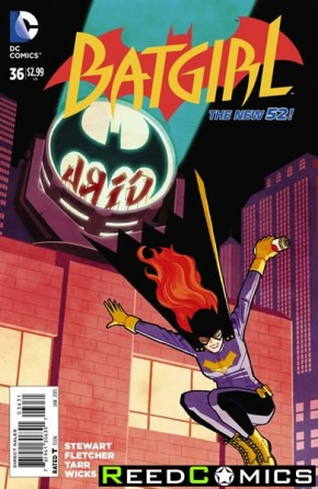Batgirl Volume 4 #36 (1 in 25 Incentive Variant Cover)