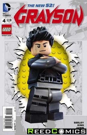 Grayson #4 (Lego Variant Edition)