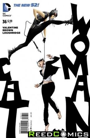 Catwoman Volume 4 #36