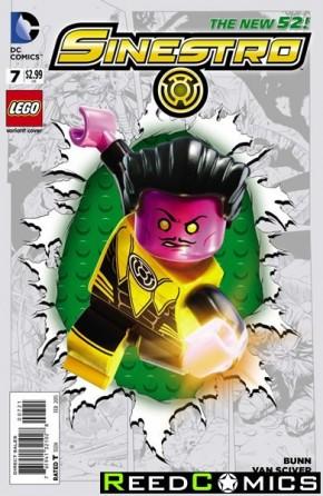Sinestro #7 (Lego Variant Edition)