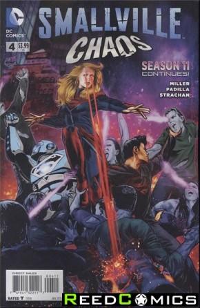 Smallville Season 11 Chaos #4