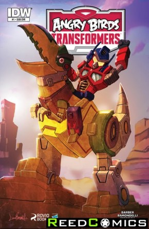 Angry Birds Transformers #1 (Subscription Variant Cover)