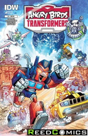 Angry Birds Transformers #1 (1 in 10 Incentive Variant Cover)