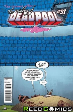 Deadpool Volume 4 #37 (Rocket Raccoon and Groot Variant Cover)