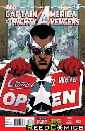 Captain America and the Mighty Avengers #2