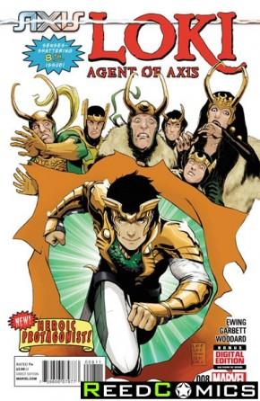 Loki Agent of Asgard #8