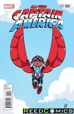 All New Captain America #1 (Skottie Young Baby Variant Cover)