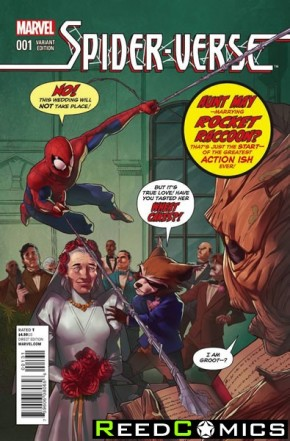 Spiderverse #1 (Rocket Raccoon and Groot Variant)