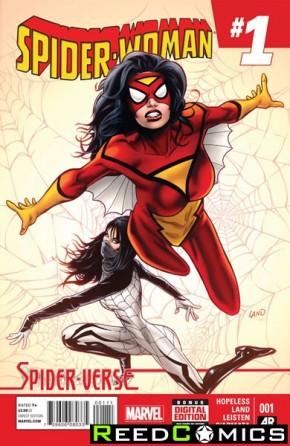 Spiderwoman Volume 5 #1 (1st Print)