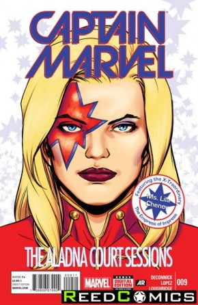 Captain Marvel Volume 7 #9