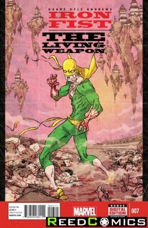 Iron Fist Living Weapon #7