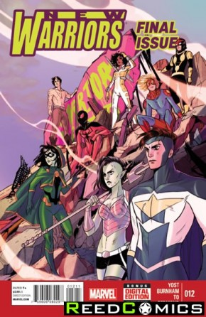 New Warriors Volume 5 #12