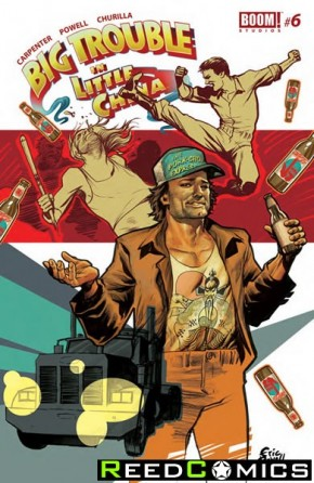 Big Trouble in Little China #6 (Random Cover)