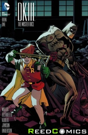 Dark Knight III Master Race #1 (1 in 25 Janson Incentive Variant Cover)