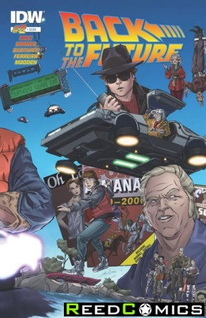 Back to the Future #2 (1st Print)