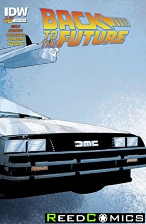 Back to the Future #2 (Subscription Variant Cover)