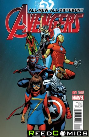 All New All Different Avengers #1 (1 in 25 Incentive Variant Cover)