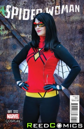 Spiderwoman Volume 6 #1 (1 in 15 Cosplay Incentive Variant Cover)