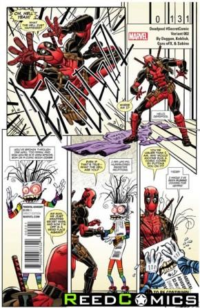 Deadpool Volume 5 #2 (Koblish Secret Comic Variant Cover)