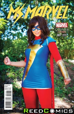 Ms Marvel Volume 4 #1 (1 in 15 Cosplay Incentive Variant Cover)