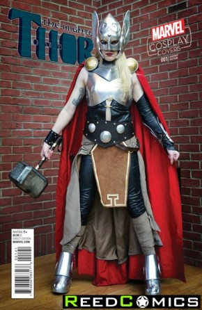 The Mighty Thor Volume 2 #1 (1 in 15 Cosplay Incentive Variant Cover)