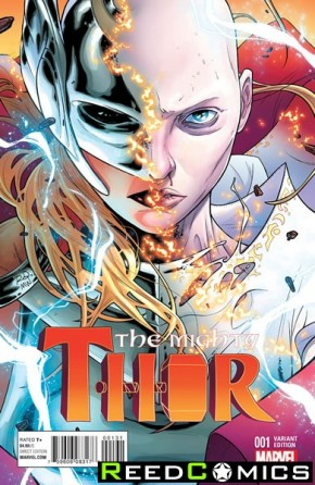 The Mighty Thor Volume 2 #1 (1 in 20 Dauterman Incentive Variant Cover)