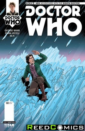 Doctor Who 8th #2 (1 in 10 Incentive Variant Cover)