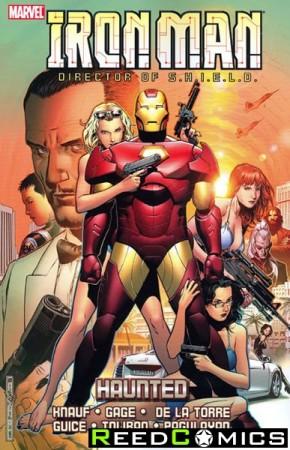 Iron Man Haunted Graphic Novel