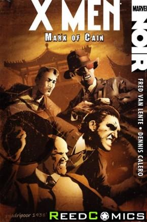 X-Men Noir Mark Of Cain Premier Hardcover