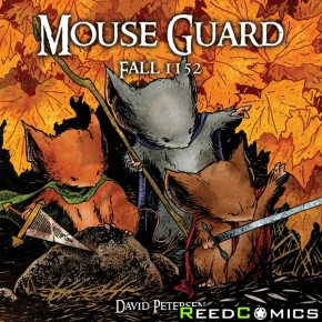 Mouse Guard Volume 1 Fall 1152 Graphic Novel
