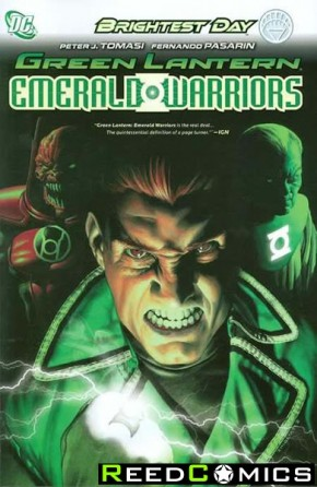 Green Lantern Emerald Warriors Volume 1 Hardcover