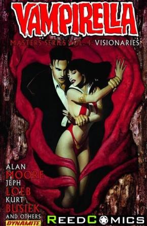 Vampirella Masters Series Volume 4 Visionaries Alan Moore Graphic Novel