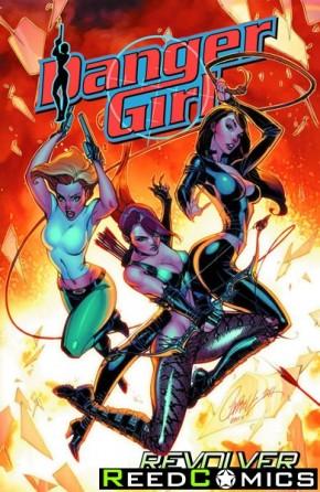 Danger Girl Revolver Graphic Novel
