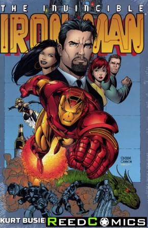 Iron Man by Kurt Busiek and Sean Chen Omnibus Hardcover