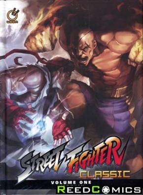 Street Fighter Classic Volume 1 Hadoken Hardcover