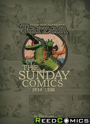 Burroughs Tarzan Sunday Comics 1934 to 1936 Volume 2 Hardcover