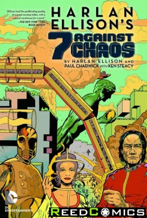 Harlan Ellisons 7 Against Chaos Graphic Novel