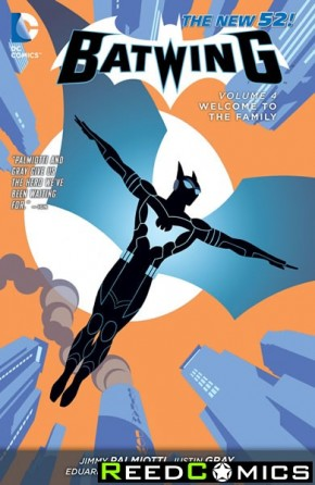 Batwing Volume 4 Welcome to the Family Graphic Novel