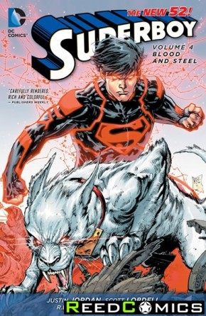 Superboy Volume 4 Blood and Steel Graphic Novel