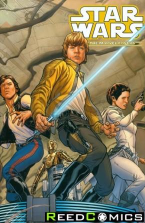 Star Wars Marvel Covers Volume 1 Hardcover Quesada DM Variant Edition