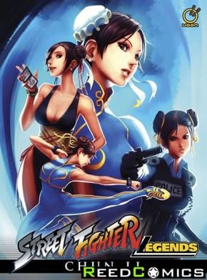 Street Fighter Legends Chun Li Hardcover