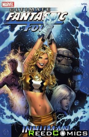 Ultimate Fantastic Four Volume 4 Inhuman Graphic Novel
