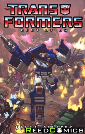 Transformers Best of the UK Space Pirates Graphic Novel