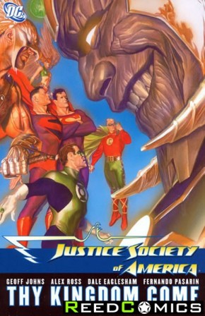 Justice Society of America Volume 3 Thy Kingdom Come Part 2 Graphic Novel