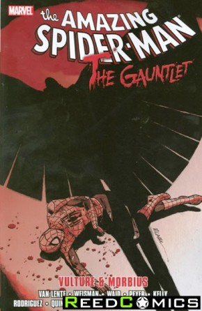 Amazing Spiderman Gauntlet Volume 3 Vulture and Morbius Graphic Novel